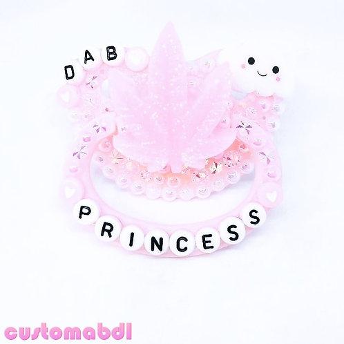 D Princess Leaf - Pink & White