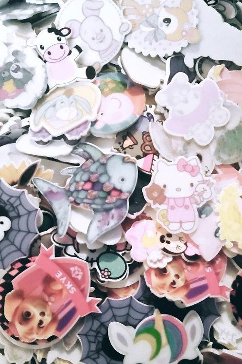 100 Pieces, Random, Planar Grab Bag