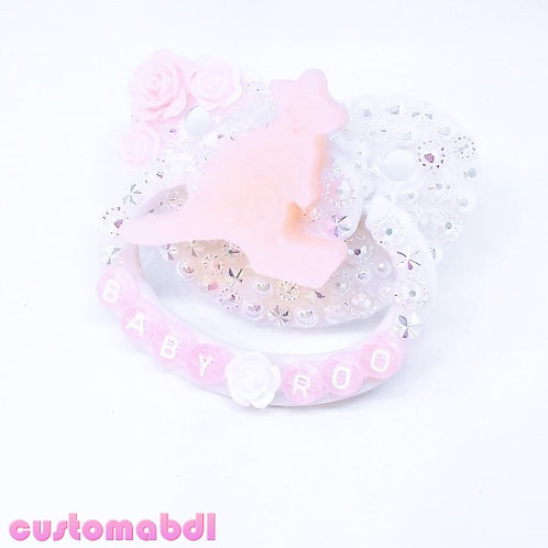 Baby Roo - Pink & White
