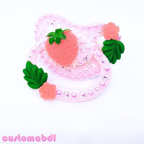 Strawberry - Pink, Red & Green