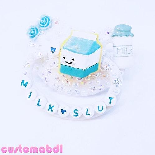 Milk S - White & Blue