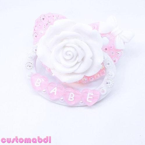 Babe La Fleur - White & Pink