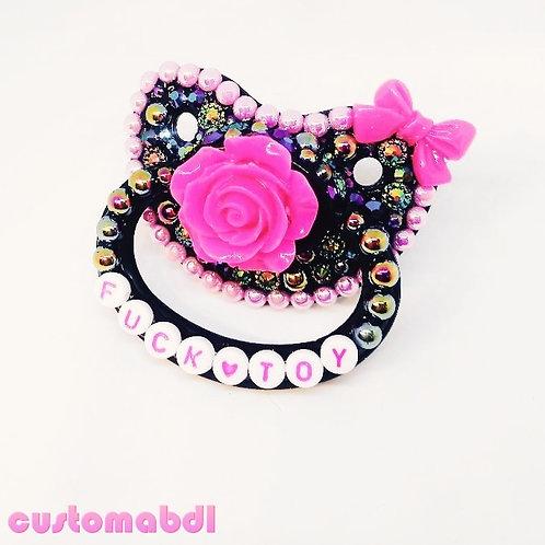 FT Rose - Black & Hot Pink