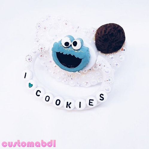 I ❤️ Cookies - White, Baby Blue & Brown