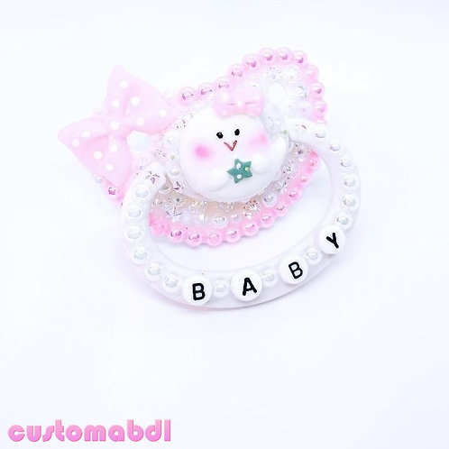 Baby Ghost Ghoul - White & Pink