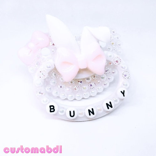BUNNY - White & Pink