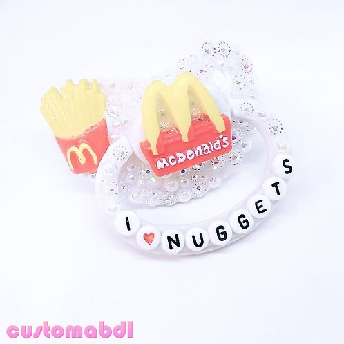 I 💙 Fast Food - White
