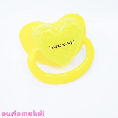 Simple Innocent Heart - Yellow