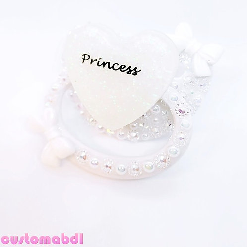 Princess Heart - White