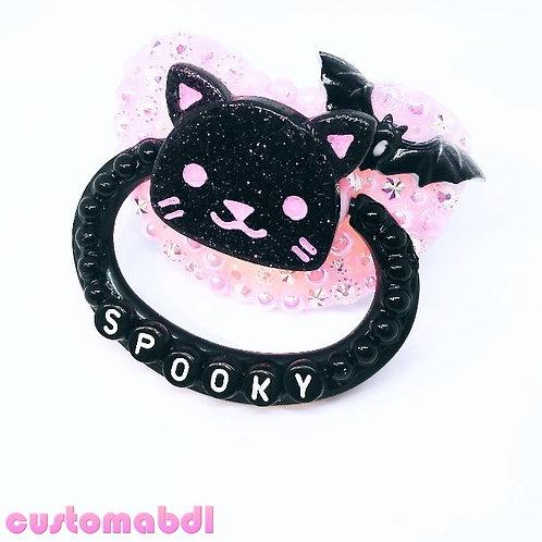 Spooky Kitten - Pink & Black