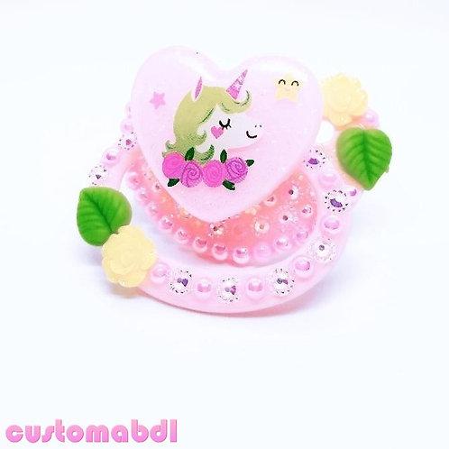 Unicorn Heart - Pink, Yellow & Green