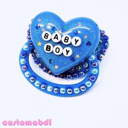 B Boy - Baby Blue & Royal Blue