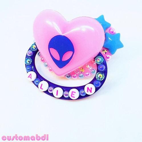 Alien Heart - Pink & Blue
