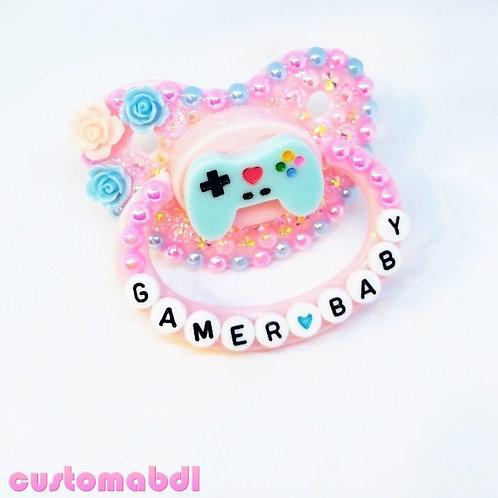 Gamer Baby - Pink & Baby Blue