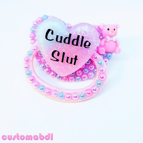 Cuddle S Heart - Pink, Lavender & Baby Blue