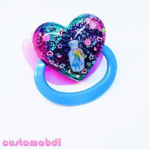 Simple Wonderland Heart - Lavender & Baby Blue
