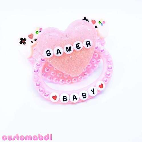 Gamer Baby Heart - Pink