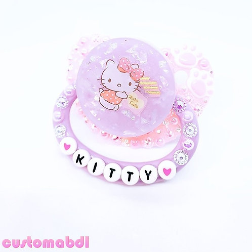 Kitty Paws - Pink & Lavender - Cat, Kitten