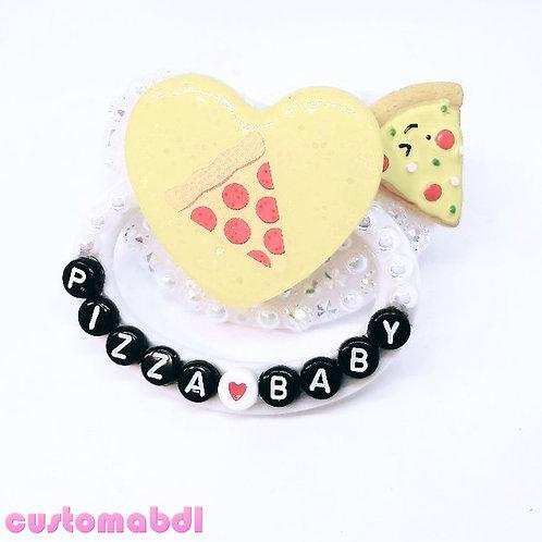 Pizza Baby - Yellow, White & Black