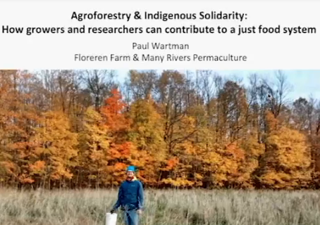 Planning for Agroforestry and Indigenous Solidarity - Free Webinar, Savanna Institute