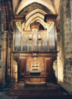 Les orgues Notre-Dame du Folgoët