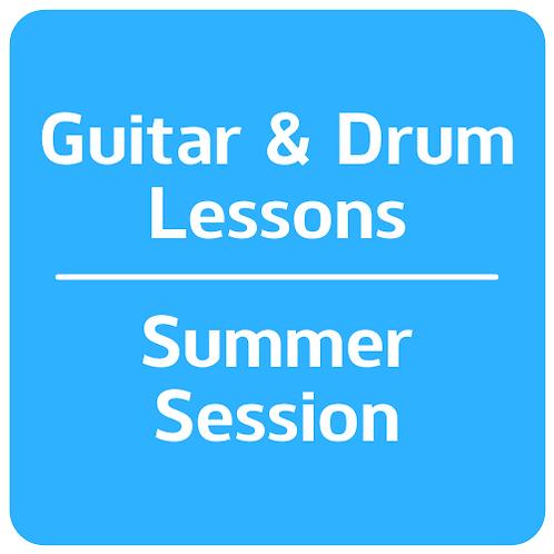 Guitar & Drum Lessons -Summer Session