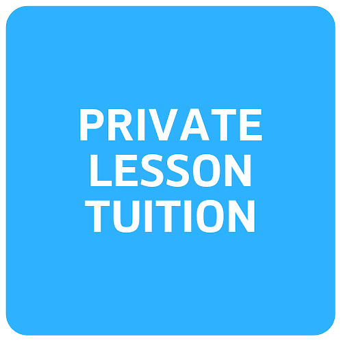 Private Lessons - Monthly Tuition Rate