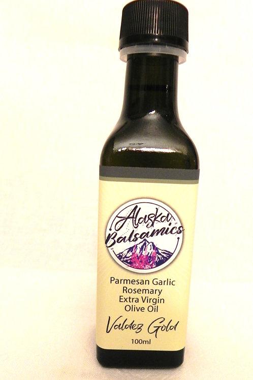 Valdez Gold 100 ml - Parmesan Garlic Rosemary Extra Virgin Olive Oil