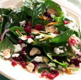 Berry Spinich Salad