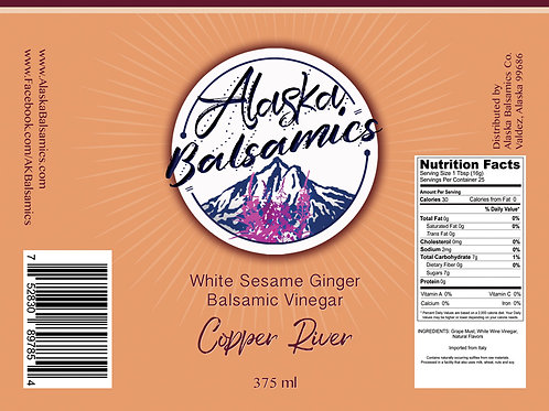 Copper River - White Sesame Ginger Balsamic Vinegar