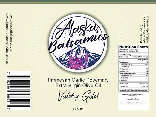 Valdez Gold - Parmesan Garlic Rosemary Extra Virgin Olive Oil