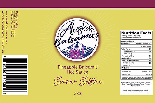 Summer Solstice - Pineapple Balsamic Hot Sauce