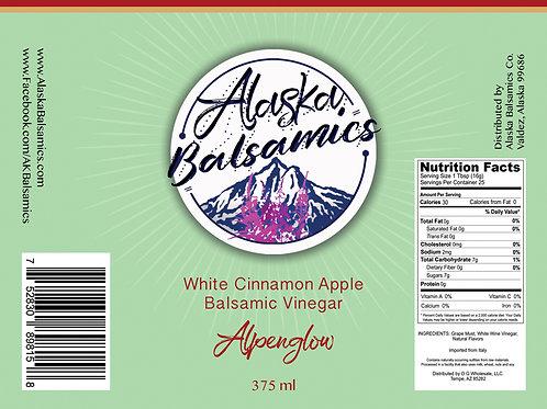 Alpenglow - White Cinnamon Apple Balsamic Vinegar