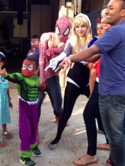 Spider Heroes