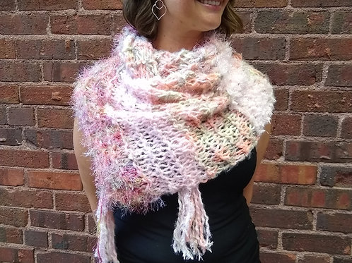 Infinity Scarf Pink multi