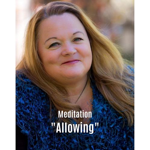 Meditation - Allowing