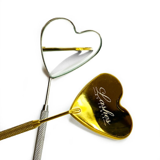 Love Heart Lash Mirror
