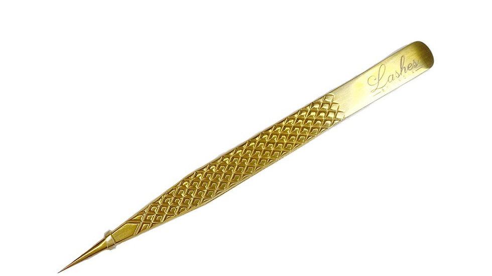 Straight Fine Point Luxury Gold