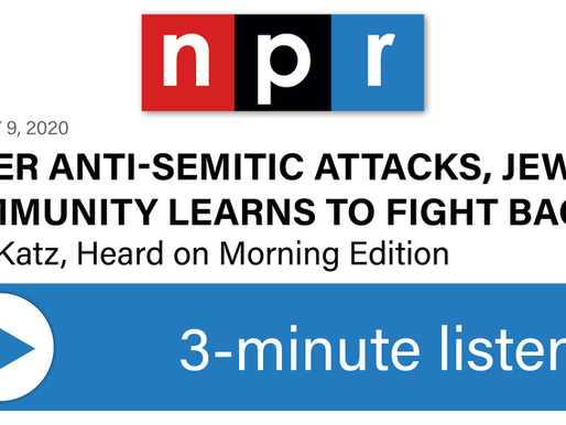 After Anti-Semitic Attacks, Jewish Community Learns To Fight Back