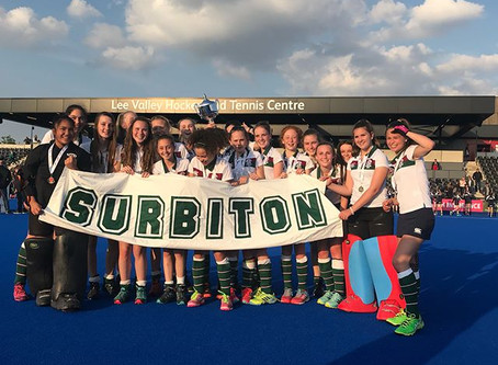 Great weekend for Surbiton with U12 and U14 Girls National Champions!