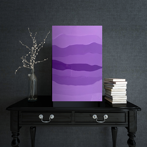 Lavander, 40 x 60 x 1 cm, painting by Irena Tone