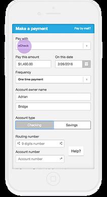 Resident Portal Payment