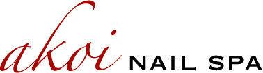 Akoi nail spa logo