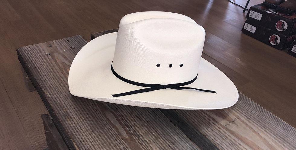 Western Express Bangora Straw Hat White