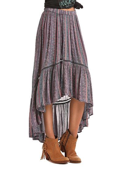 Panhandle Women's Rock & Roll Cowgirl Hi-Lo Skirt!