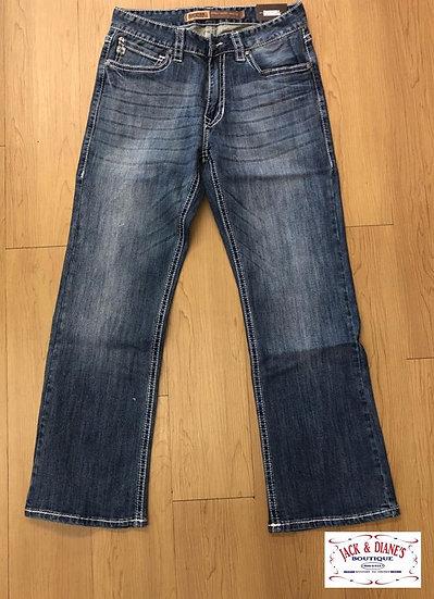 Rock & Roll Cowboy Reflex Denim Boot Cut Double Barrel Jeans