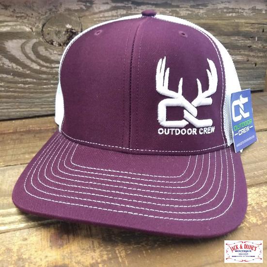 Outdoor Crew Bizzell Snapback Cap