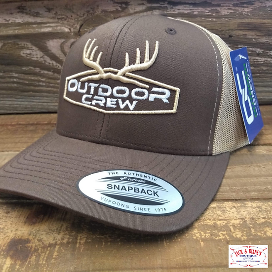 Outdoor Crew Ryder Snapback Cap