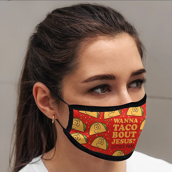 Kerusso Wanna Toca Bout Jesus Face Mask