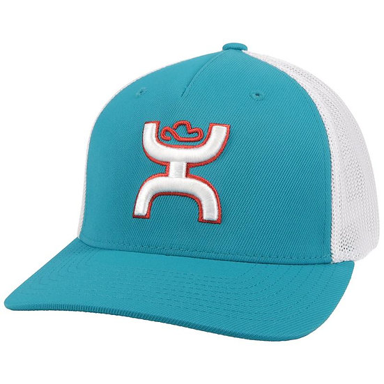HOOEY Coach Teal/White Hat